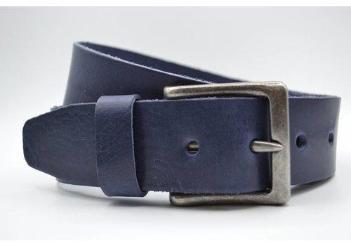 Scotts Bluf mooie strakke blauwe volnerf jeansriem