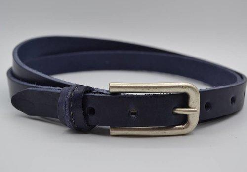Rock 'n Rich blauwe 20mm brede riem met speelse lus