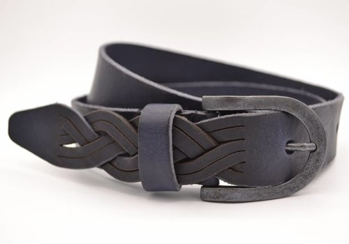 Scotts Bluf Blauwe Jeans riem met slingerpunt