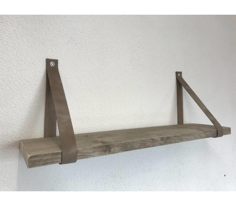 Deze stoere plankdragers zijn incl. Steigerhouten plank. Vergeet geen keuze in plank lengte te maken