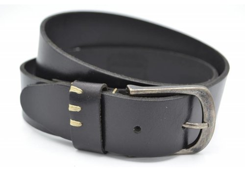 Scotts Bluf Stoere zwarte riem met leuke details