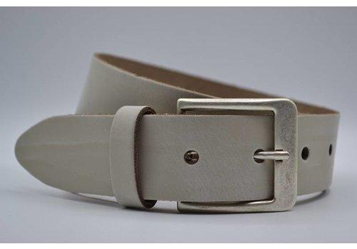 Big Belts ecru extra lange riemen op maat