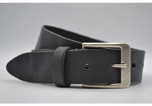 Big Belts antraciet extra lange riemen op maat