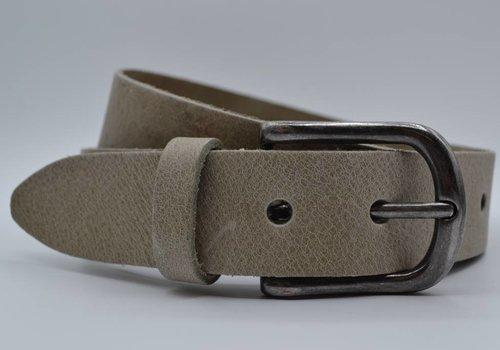 Big Belts taupe extra lange herenriem