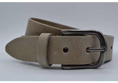 Big Belts taupe extra lange herenriem