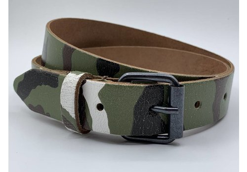 Scotts Bluf Kinderriem met camouflage print