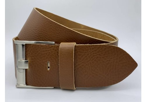 Rock 'n Rich Taille riem cognac 6cm breed