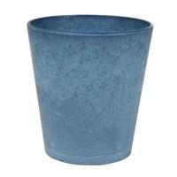 Kruidenrek met blauwe potjes