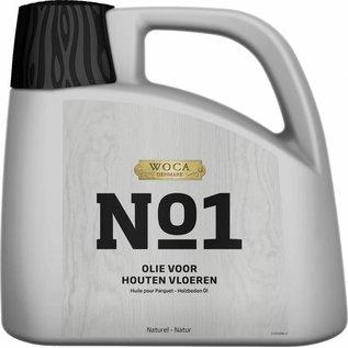 Woca N°1 Olie voor houten vloeren Wit