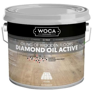 Woca Diamond Oil Active Smoke Brown