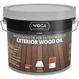 Woca Exterior Wood Oil Teak