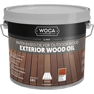 Woca Exterior Wood Oil Roodbruin