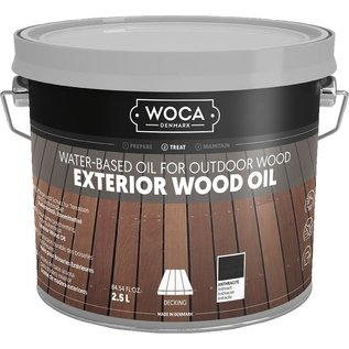 Woca Exterior Wood Oil Antraciet