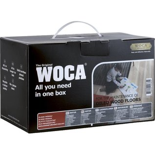 Woca Onderhoudsbox met onderhoudsolie Wit