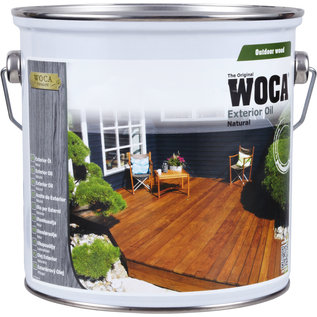 Woca Uitverkoop: Exterior Oil Exclusive Antraciet