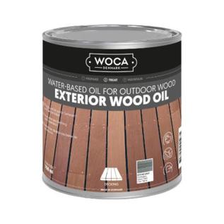 Woca Exterior Wood Oil Stone Grey