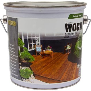 Woca Exterior Oil Exclusive Zoutgroen
