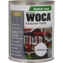 Woca Exterior Paint Staalblauw