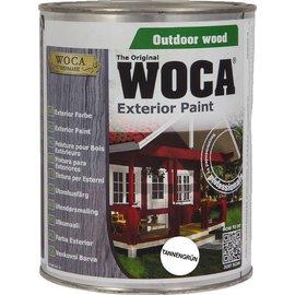 Woca UITVERKOOP: Exterior Paint Dennengroen