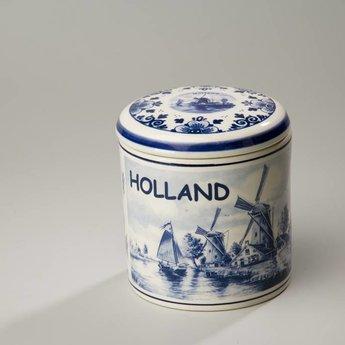 Stroopwafelkraam.COM Stroopwafelpot aardewerk Holland
