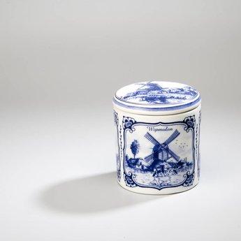 Stroopwafelkraam.COM Stroopwafelpot aardewerk - Molens