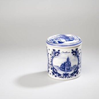 Stroopwafel pot aardewerk - Gouda