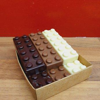 Stroopwafelkraam.COM Lego stenen chocolade