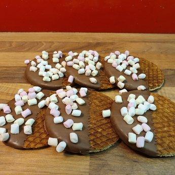 Stroopwafelkraam.COM Stroopwafel Marshmellow