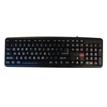 Toetsenbord Geel/Zwart