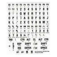 Braille toetsenbord Zwart/Wit