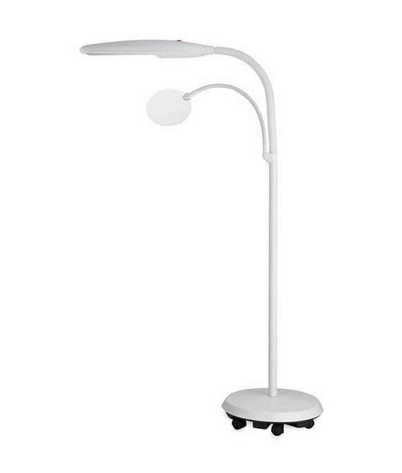 staande daglicht lamp met lens