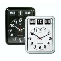 Kalenderklok Zwart en Wit