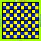 Dambord spelzeil
