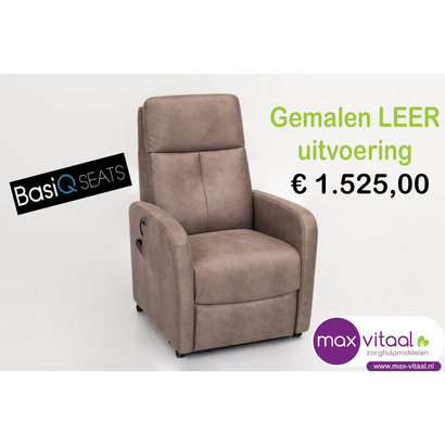 BasiQ  Seats Sta-op stoel PERU (Gemalen LEER)