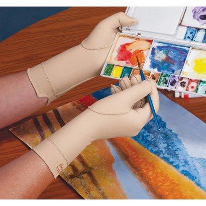 Norco oedeemhandschoen hele vinger over de pols