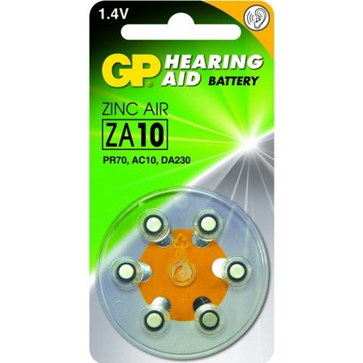 GP Zink Air hoorapparaat batterijen