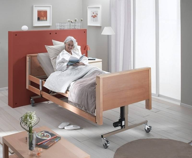 Hoog laag bed deluxe veilig en snel bij maxvitaal maxvitaal