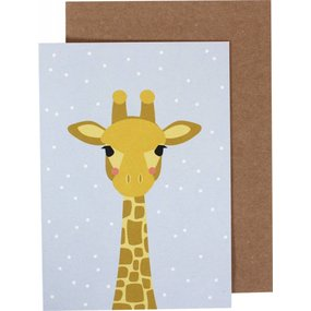 ava&yves Klappkarte Giraffe