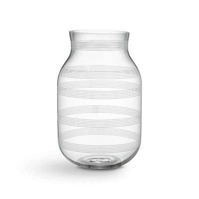 KÄHLER Glasvase h 28 cm klar