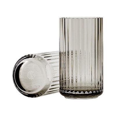Lyngby Vase 15 cm smoke