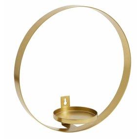Nordal Circle Kerzenhalter Wandmontage 31 cm