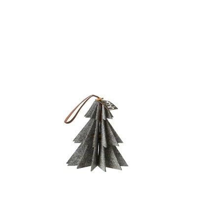 Anhänger Baum grau 9cm