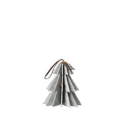 Anhänger Baum weiß 9 cm