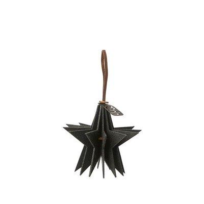 Anhänger Stern 9cm schwarz