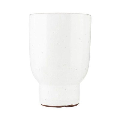 Blumentopf weiß 9/15 cm