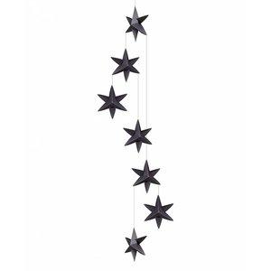 ASPEGREN Livingly Sternengirlande Girlande schwarz