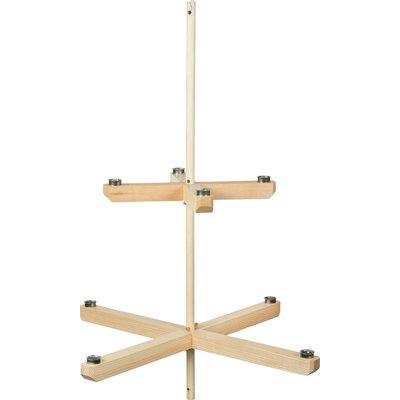 Ernst Kronleuchter Kerzenhalter natur 96 cm