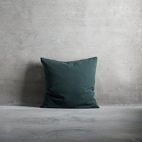 Tine K Home Kissenbezug Leinen grün 60x60 cm