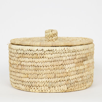 Afro Art PALM Korb mit Deckel