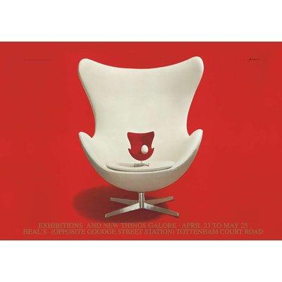 Karte Bild Egg Chair A5